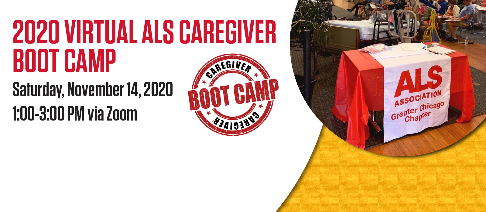 Introducing a Virtual ALS Caregiver Boot Camp Experience